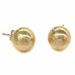 MEAR-GF-01-D1 14mm Satin Stripes Knob Studs