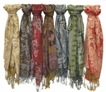 SCARF-PASH-D1 Ladies Scarves (8 Colors Available)