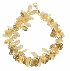1-0771-D1 Fancy Leaf Bracelet