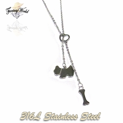 SSNEC-03-C1 Puppy Bone Necklace