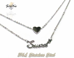 SSNEC-05-C1 Sweet Heart Necklace