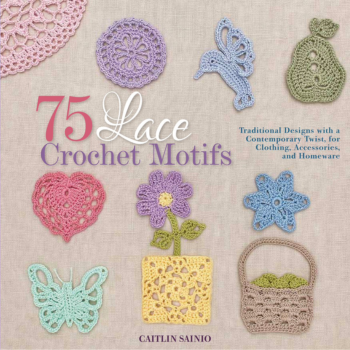 Crochet Patterns Motifs : 75 Lace Crochet Motifs