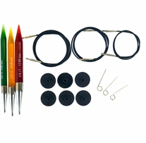 Acrylic Needles Interchangeable Chunky Knitting Set