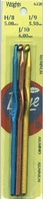 Aluminum Crochet Hook 3 Piece Set Sizes H8, I9, J10