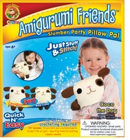 Amigurumi Friends Pillow Pal Kit Coco The Dog