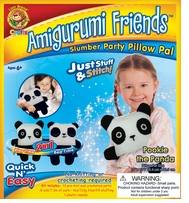 Amigurumi Friends Pillow Pal Kit Pookie The Panda