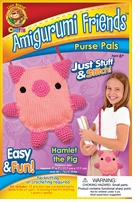Amigurumi Friends Purse Pals Kit Hamlet The Pig