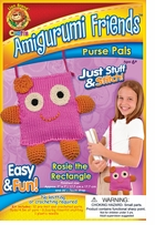 Amigurumi Friends Purse Pals Kit Rosie The Rectangle