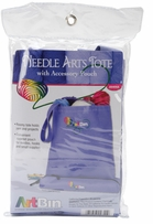 ArtBin Needle Arts Tote with Accessory Pouch Periwinkle
