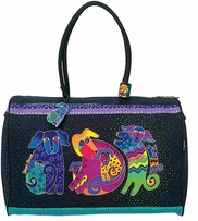 Artistic Totes Travel Bag Dogs & Doggies