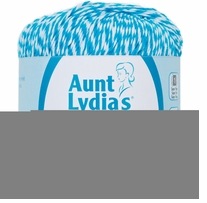 Aunt Lydia's Baker's Cotton Crochet Thread Turquoise