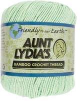 Aunt Lydia's Bamboo Crochet Thread Size 3 Honeydew