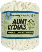 Aunt Lydia's Bamboo Crochet Thread Size 3 Wheat