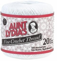 Aunt Lydia's Crochet Thread Fine Crochet Thread