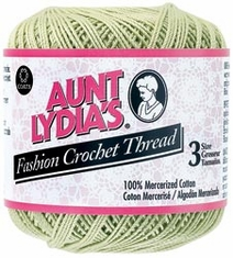 Aunt Lydia's Fashion Crochet Thread Size 3 - Click to enlarge