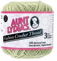 Aunt Lydia's Fashion Crochet Thread Size 3