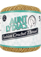 Aunt Lydia's Fashion Crochet Thread Size 5