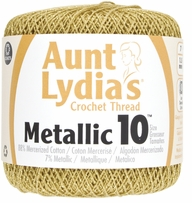 Aunt Lydia's Metallic Crochet Cotton