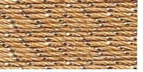 Aunt Lydia's Metallic Crochet Cotton Gold/Gold