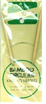 Bamboo Circular Knitting Needles 16in Size 10 6mm