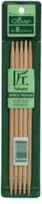 Bamboo Double Point Knitting Needles 5in