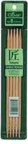 Bamboo Double Point Knitting Needles 7in