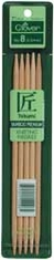 Bamboo Double Point Knitting Needles 7in - Click to enlarge