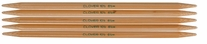 Bamboo Double Point Knitting Needles 7in Size 10 6mm