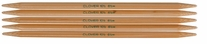 Bamboo Double Point Knitting Needles 7in Size 5 3.75mm