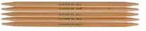 Bamboo Double Point Knitting Needles 7in Size 6 4mm
