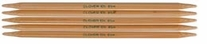 Bamboo Double Point Knitting Needles 7in Size 8 5mm