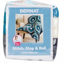 Bernat Afghan Kit Calm Ocean Breeze