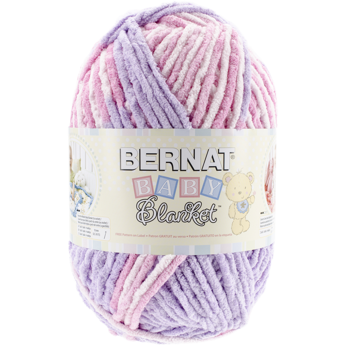 Crochet Patterns Bernat Blanket Yarn : ... Bernat? Baby Blanket? Big Ball Yarn 10.5oz ? Bernat? Baby Blanket