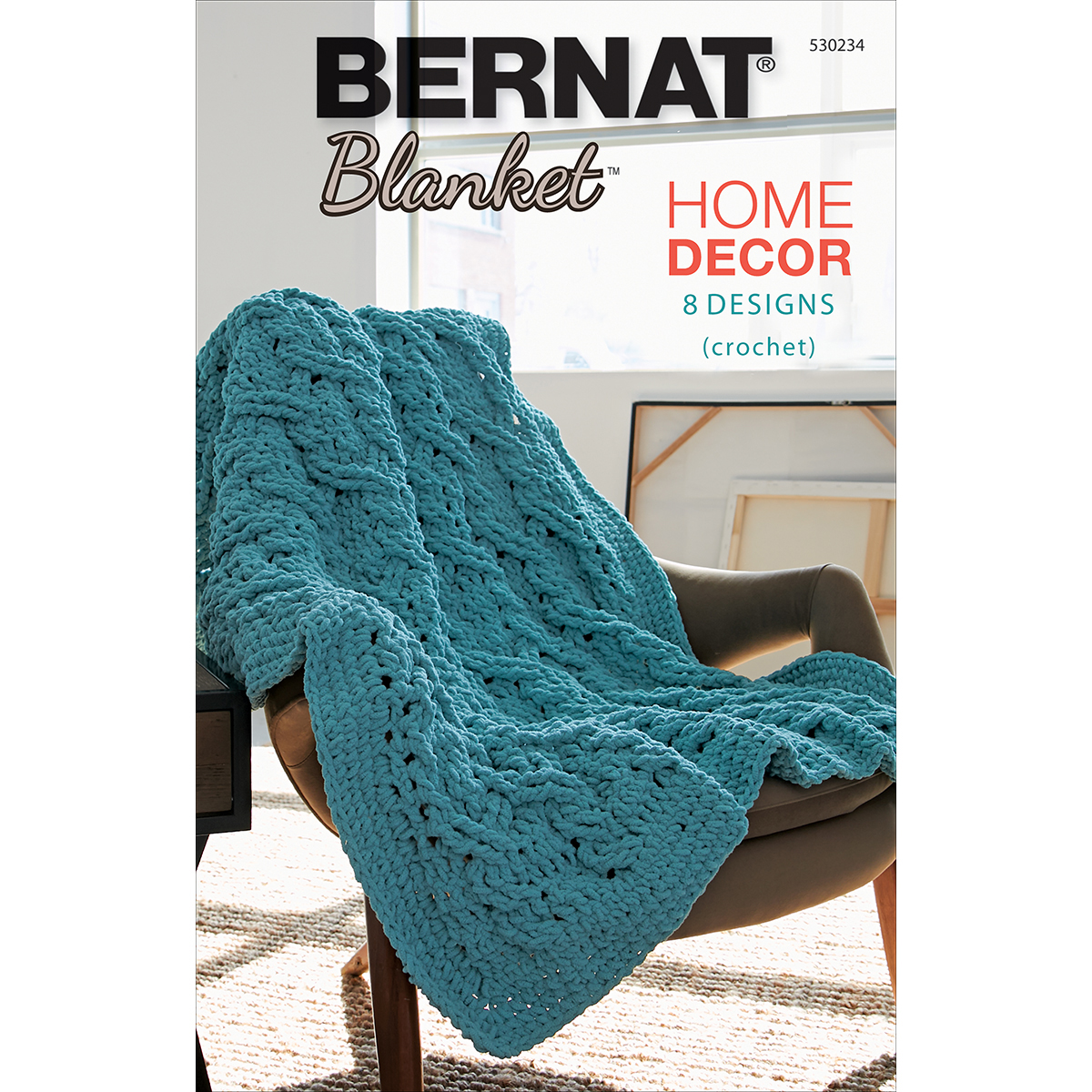 Crochet Patterns Using Bernat Blanket Yarn : ... Crochet Patterns ? Crochet Books Home DEcor ? Bernat Blanket Home