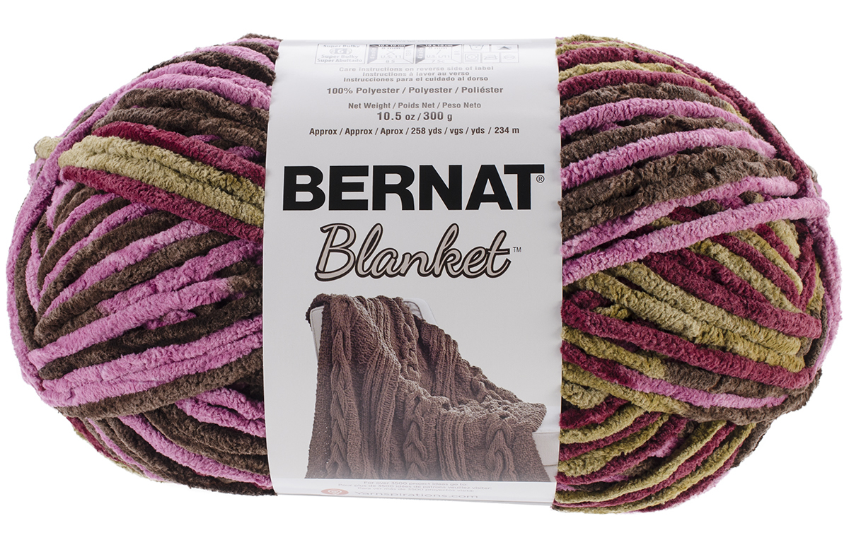 Crochet Patterns Using Bernat Blanket Yarn : ... Yarn Weight ? Yarn By Weight 6 Super Bulky ? Bernat? Blanket