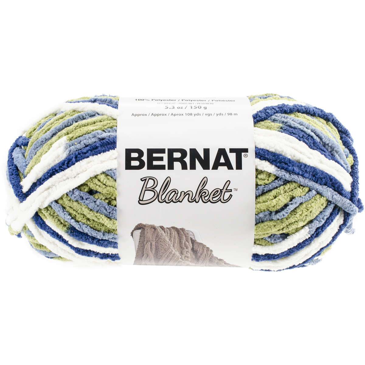 Bernat Blanket Yarn Oceanside 5.3oz - Click to enlarge