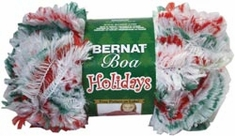 Bernat® Boa Holidays Christmas Yarn - Click to enlarge