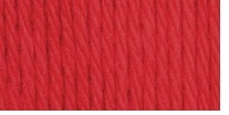 Bernat Handicrafter Cotton Yarn Solids Country Red