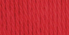 Bernat Handicrafter Cotton Yarn Solids Country Red - Click to enlarge