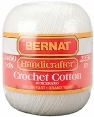 Bernat® Handicrafter Crochet Cotton Thread - Click to enlarge