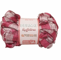 Bernat Ruffelina Yarn For Breast Cancer Pink