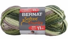 Bernat® Softee Chunky Ombre Yarn  - Click to enlarge