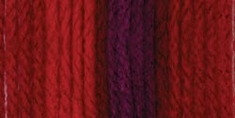 Bernat® Super Value Ombre Yarn Flamenco - Click to enlarge