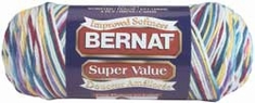 Bernat Super Value Ombre Yarn - Click to enlarge
