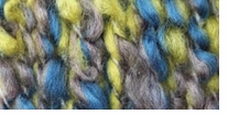 Bernat Soft Boucle Yarn Lemon Pepper Blue