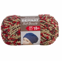 Bernat Soft Boucle Yarn Super Bulky Chili Peppers