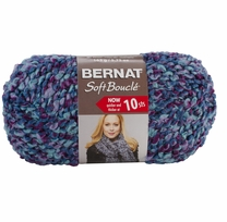 Bernat Soft Boucle Yarn Super Bulky Luxury Shades