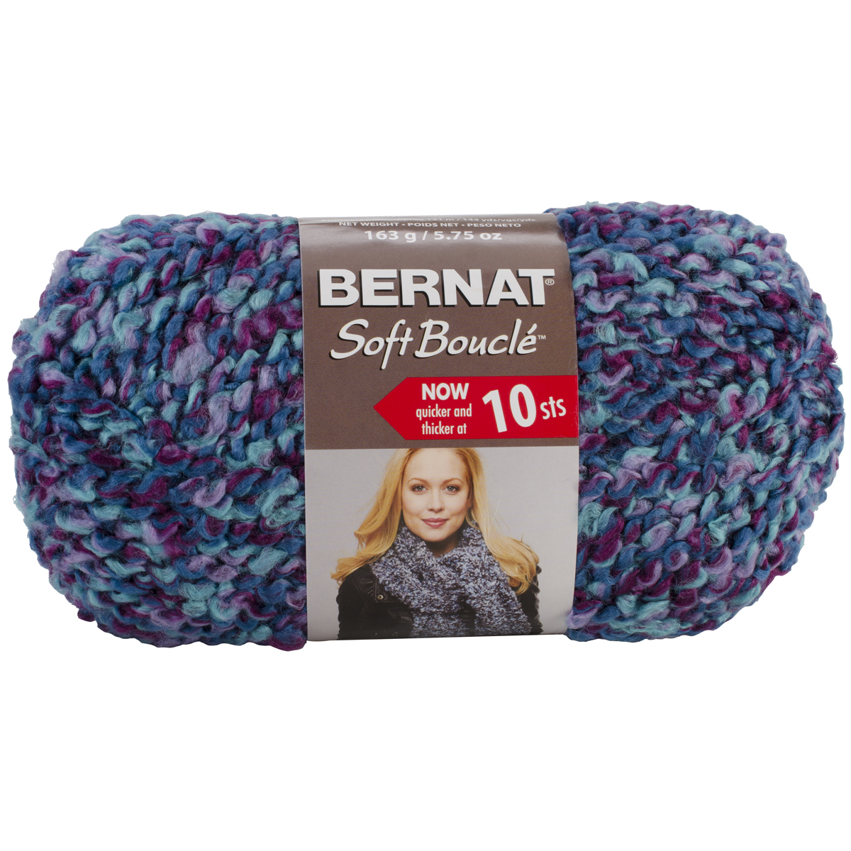 Boucle Yarn : ... Soft Boucle Yarn ? Bernat Soft Boucle Yarn Super Bulky Luxury Shades