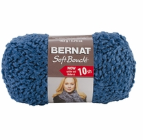 Bernat Soft Boucle Yarn Super Bulky Teal