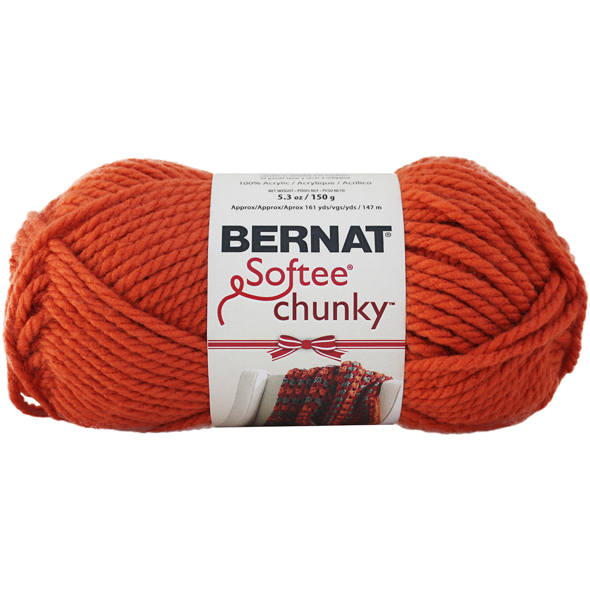 Chunky Yarn : ... Chunky Holiday Yarn ? Bernat? Softee? Chunky Holiday Yarn Pumpkin